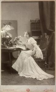 Lina Loos, 1902 © Österreichische Nationalbibliothek
