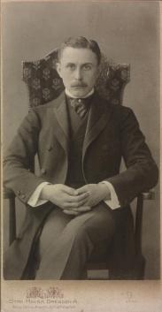 Adolf Loos, 1902 © Österreichische Nationalbibliothek